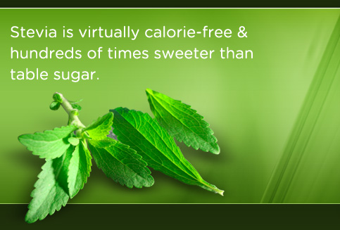 Stevia was kept off the American market during the NutraSweet years.